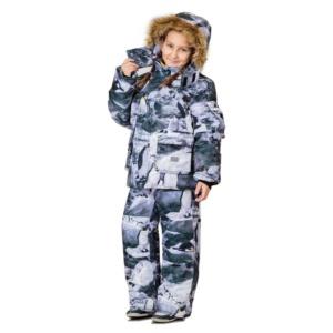 Зимний детский камуфляж